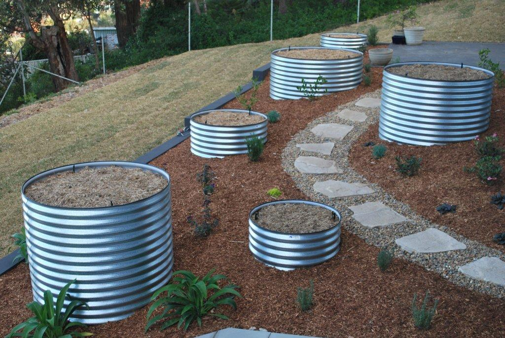 Rainwater Tanks And Electric Solar Panels Galleries And
